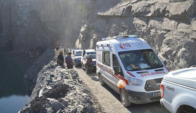 Şırnak'taki göçükte hayatını kaybedenlerin sayısı 8'e yükseldi