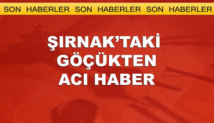 Şırnak'taki maden ocağı göçüğünden acı haber, 6 ölü