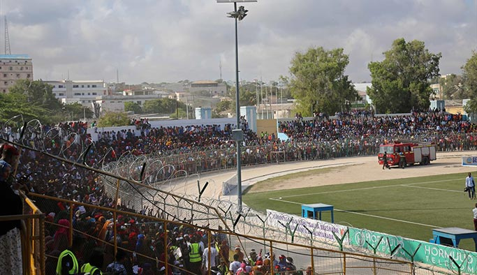 Somali'de Recep Tayyip Erdoğan sloganları