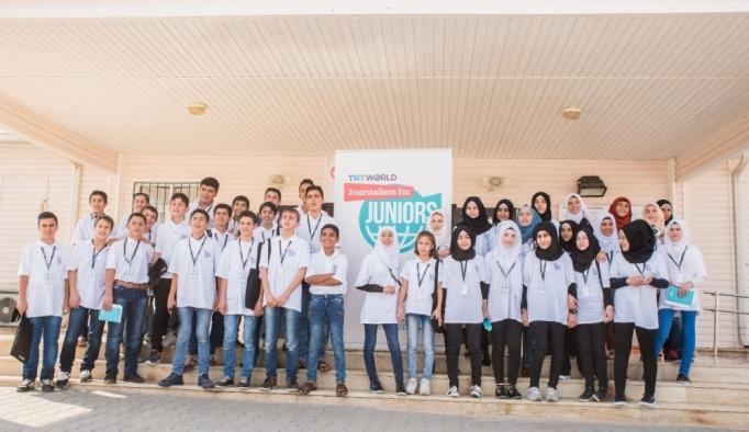 TRT World'den Suriyeli çocuklara gazetecilik eğitimi