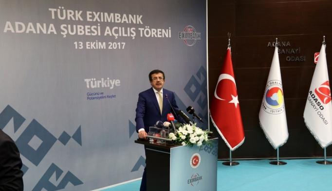 Türk Eximbank Adana Şubesi açılış töreni