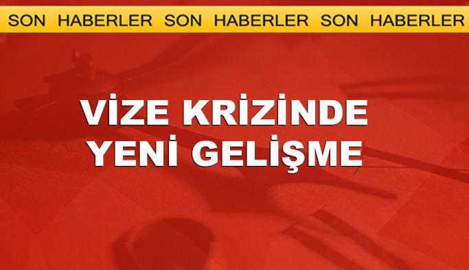 Türkiye-ABD vize krizinde yeni gelişme