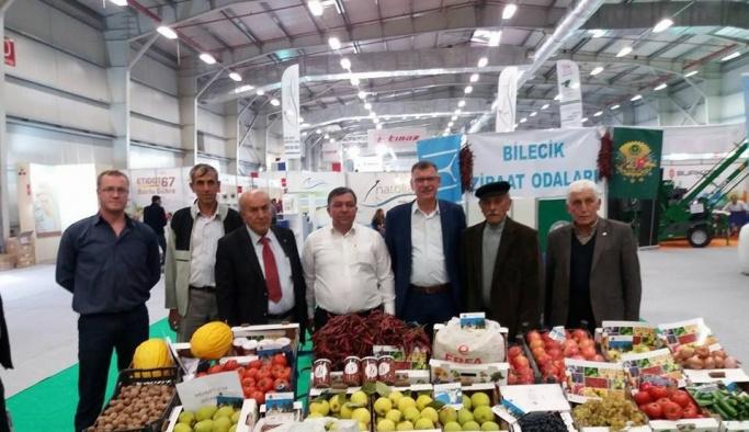 Vezirhan Belde Belediye Başkan Duymuş'dan Çukurören Köyü standını övgü