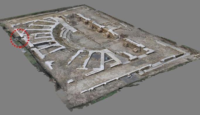 2 bin yıllık Güneş Saati bulundu