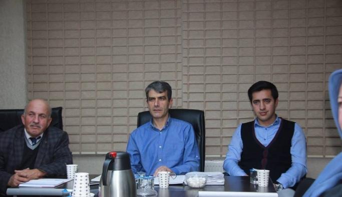 AK Parti Merkez İlçe Başkanlığı Yönetim Kurulu toplandı
