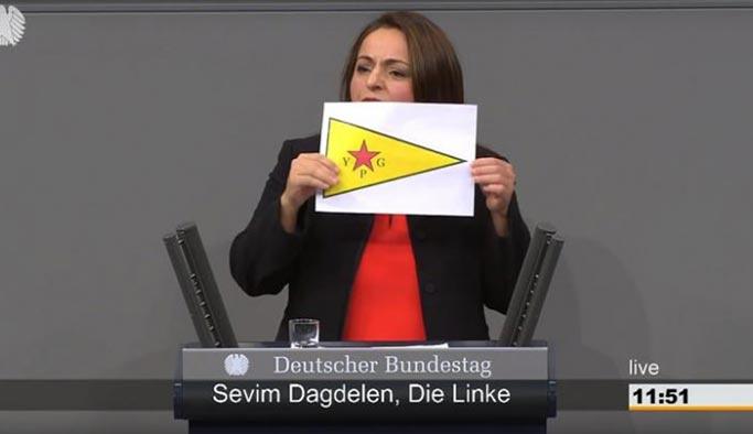 Alman Meclisi'nde YPG skandalı