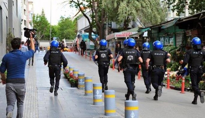 Ankara'da eylemler süresiz olarak yasaklandı