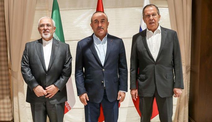 Antalya'da Türkiye-İran-Rusya zirvesi