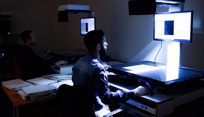Arşivlerdeki 39 milyon belge dijitalleştirildi