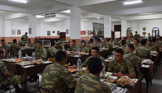 Askerin yemek duasında değişiklik