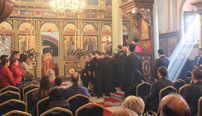 Aya Yorgi Kilisesi onarılarak yeniden açıldı