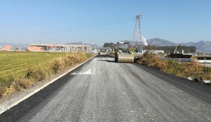 Aydın'da sıcak asfalt çalışmalarında sona yaklaşıldı