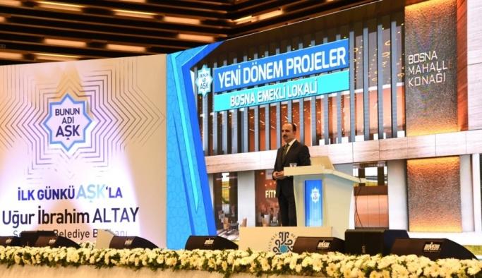 Başkan Altay, sosyal tesis yatırımlarını anlattı