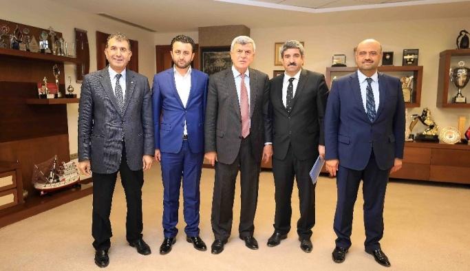 Başkan Karaosmanoğlu, KOTO Başkanı Necmi Bulut'u ağırladı
