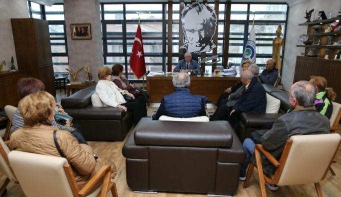 Başkan Kurt, eski genel sekreterler ile bir araya geldi