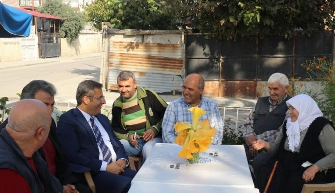 Başkan Pamuk, Bahşişli vatandaşlarla buluştu