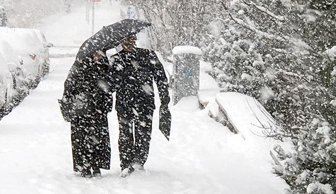 Beş ilde kar yağışı bekleniyor