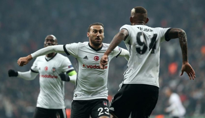 Beşiktaş Şampiyonlar Ligi'nde tarih yazdı