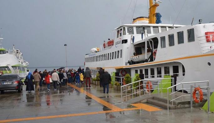 BUDO, İstanbul seferlerini iptal etti