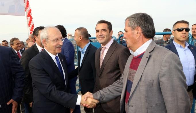 CHP Genel Başkanı Kılıçdaroğlu Edirne'de