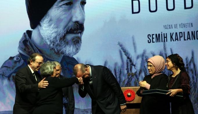 Buğday filminin galası Beştepe'de yapıldı