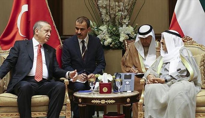 Türkiye ile Kuveyt arasında birçok alanda anlaşma