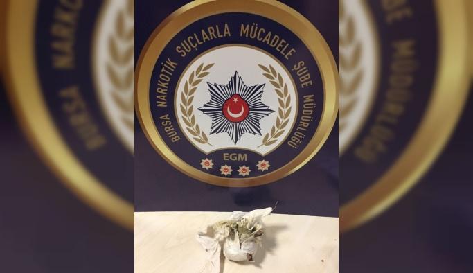 Doğu illerinden uyuşturucu getiren şüpheli Bursa'da yakalandı
