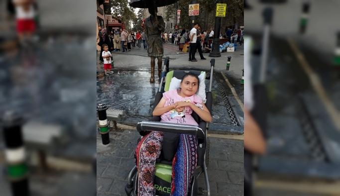 Engelli kızın tek hayâli Erdoğan'la görüşmek