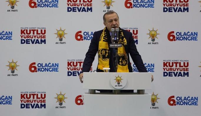 Erdoğan: İhanet şarlatanlarının devri kapandı
