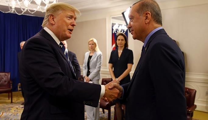 Erdoğan ile Trump görüştü, işte ilk açıklama