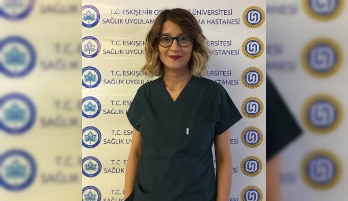 ESOGÜ Hastanesi hemşiresinin başarısı