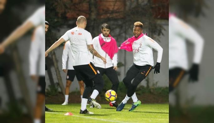 Galatasaray, M. Başakşehir maçı hazırlıklarını sürdürdü
