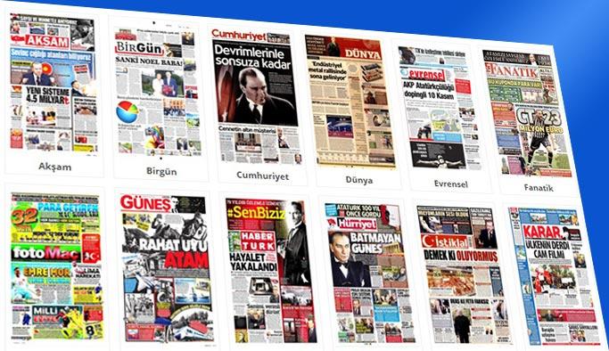 Gazetelerin bugünkü manşetleri 10 Kasım 2017