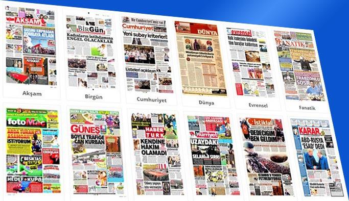 Gazetelerin bugünkü manşetleri 12 Kasım 2017