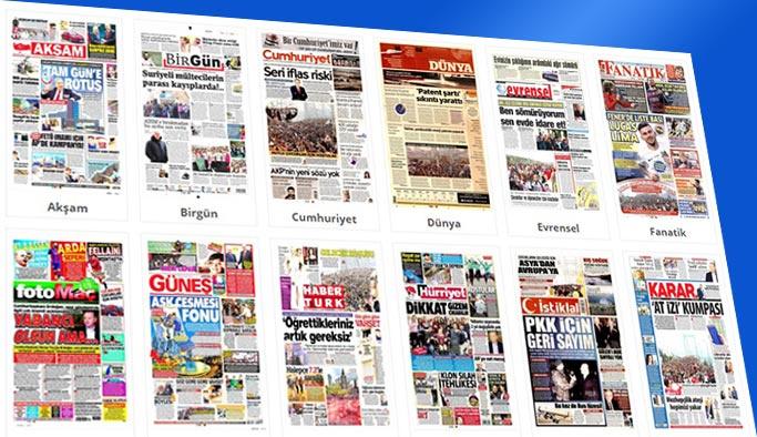 Gazetelerin bugünkü manşetleri 13 Kasım 2017