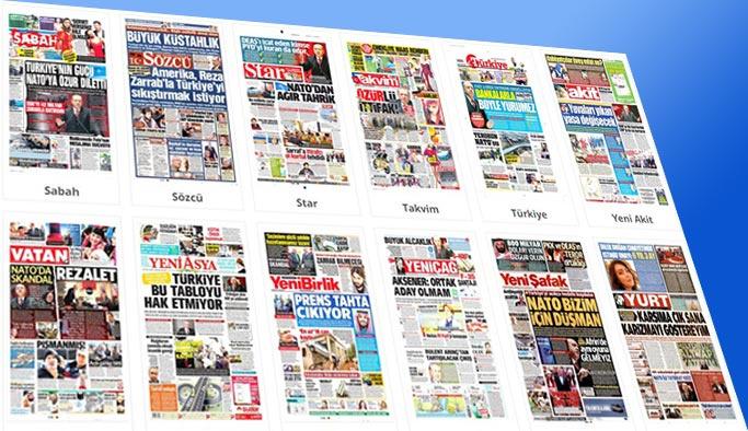 Gazetelerin bugünkü manşetleri 18 Kasım 2017