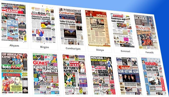 Gazetelerin bugünkü manşetleri 19 Kasım 2017