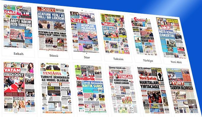 Gazetelerin bugünkü manşetleri 20 Kasım 2017