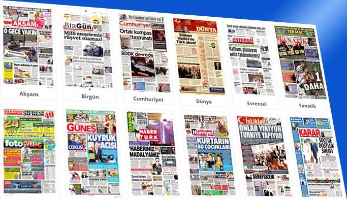 Gazetelerin bugünkü manşetleri 21 Kasım 2017