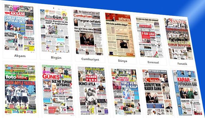 Gazetelerin bugünkü manşetleri 22 Kasım 2017