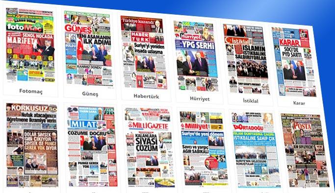 Gazetelerin bugünkü manşetleri 23 Kasım 2017