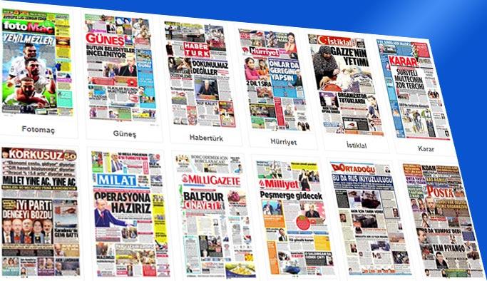 Gazetelerin bugünkü manşetleri 2 Kasım 2017