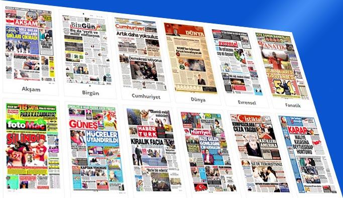 Gazetelerin bugünkü manşetleri 4 Kasım 2017