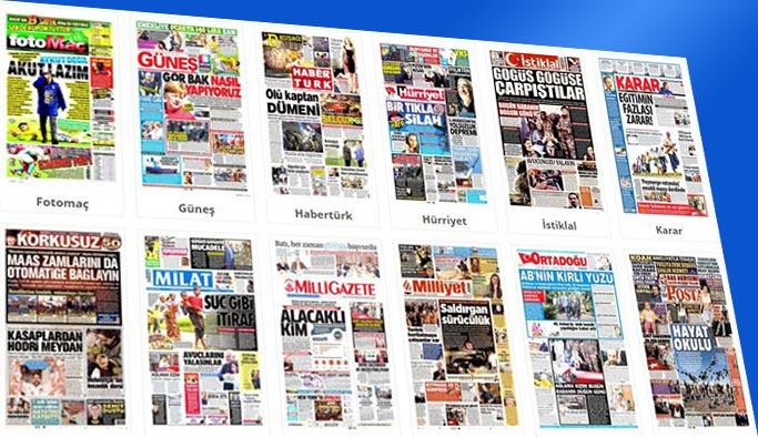 Gazetelerin bugünkü manşetleri 5 Kasım 2017