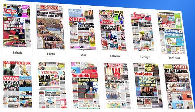 Gazetelerin bugünkü manşetleri 11 Kasım 2017