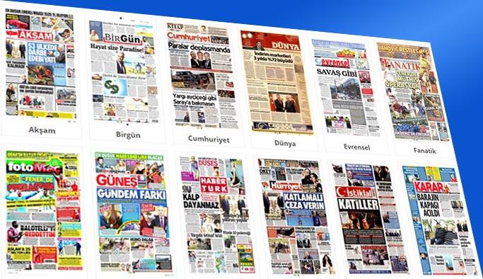 Gazetelerin bugünkü manşetleri 9 Kasım 2017