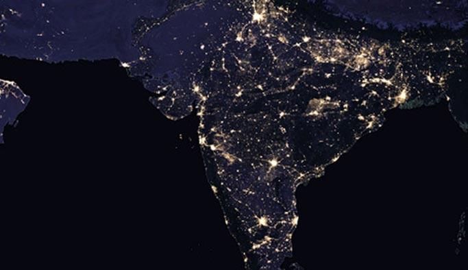 Gecenin doğal karanlığı yapay ışıkla kirletildi