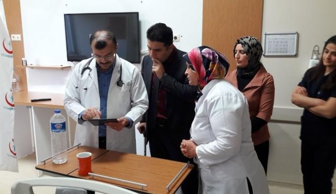 Gölbaşı Devlet Hastanesinde digital değerlendirme sistemi