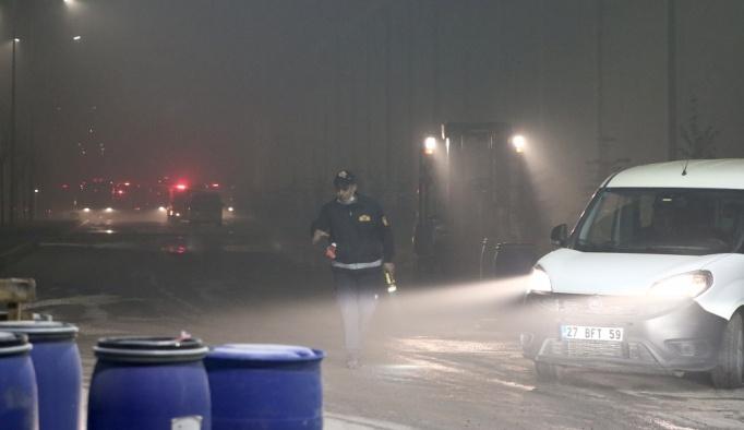 Gaziantep'te korkutan yangın, onlarca itfaiye müdahale etti