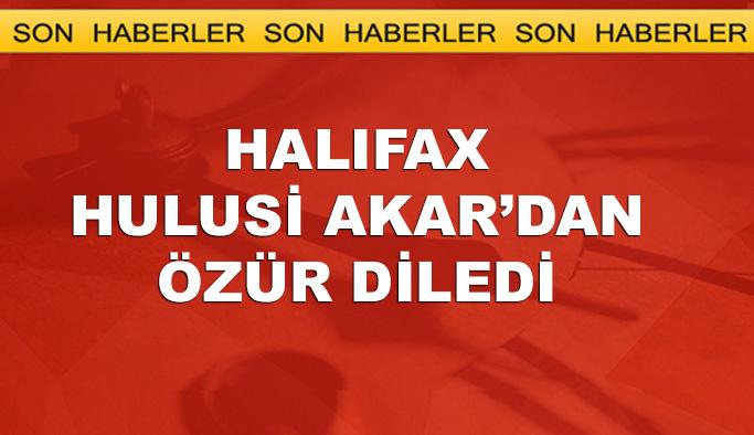 Halifax Forumu, Hulusi Akar'dan özür diledi
